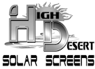 High Desert Solar Screens Logo