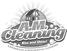 A.M. Cleaning Logo