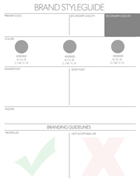 Branding Styleguide